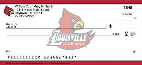 University of Louisville Personal Checks