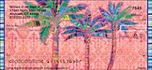 Palm Trees Personal Checks