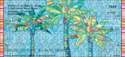 Palm Trees Personal Checks