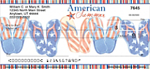 American Summer Personal Checks