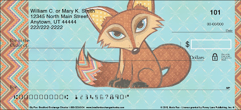 Sly Fox Personal Checks
