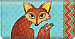 Sly Fox Checkbook Cover