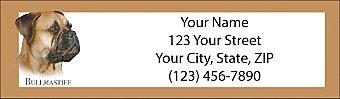 Best Breeds - Bullmastiff Return Address Label