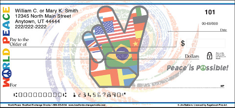 World Peace Personal Checks