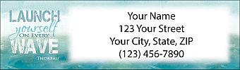 Let Your Dreams Set Sail Return Address Label