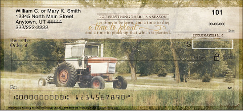 Faith Family Farming Personal Checks