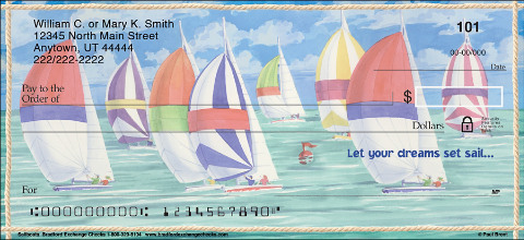 Sailboats Personal Checks