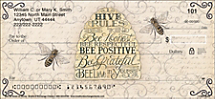 Bee as Sweet as Honey Personal Checks