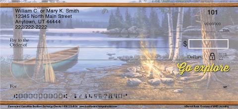 Canoes & Campfires Personal Checks