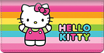 Hello Kitty® Colors Checkbook Cover