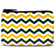 Green and Gold Chevron Coin Purse