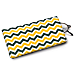 Green and Gold Chevron Eyeglass Case