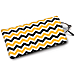 Black and Gold Chevron Eyeglass Case