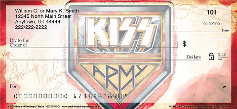 KISS™ Personal Check Designs