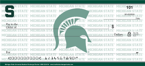 Michigan State University - Personal Checks