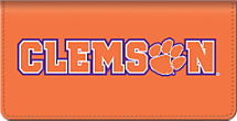 Clemson University - Checkbook Cover