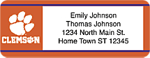 Clemson University - Return Address Label