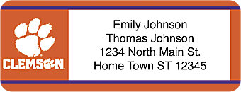 Clemson University Return Address Label