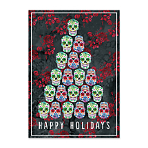Bring a Spicy Splash of Color to Your Dia de los Muertos Season's Greetings