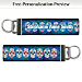 Day of the Dead Wristlet Keychain