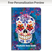 Keep Memories Alive with this Day of the Dead Notebook Journal Celebrating Mexico's Dia de los Muertos Holiday