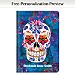 Day of the Dead Premium Fabric Refillable Journal