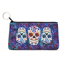 Toss Essentials into this Mini Sized Dia de los Muertos Hand Bag!
