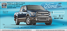 Show Your F-Series Pride with These Ford F-150 Trucks Checks