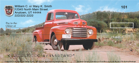 Hit the Open Road with These Vintage Ford Truck Checks