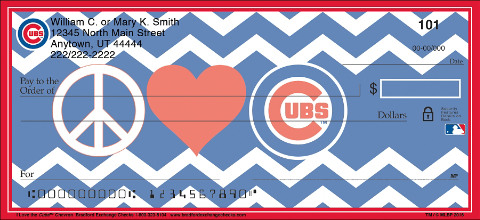 Show Your Cubs™ Pride in Chevron Stripes!