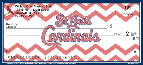 Show Your Cardinals™ Pride in Chevron Stripes!