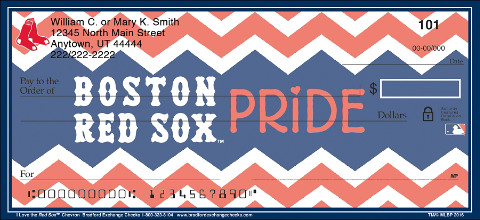 Show Your Red Sox™ Pride in Chevron Stripes!