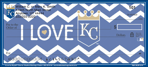 Show Your Royals™ Pride in Chevron Stripes!