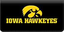 Genuine Leather University of Iowa® Checkbook Cover Celebrates the Hawkeyes®