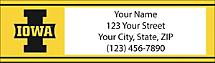 Hawkeyes® Address Labels Showcase Your Favorite Team