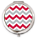 Red and Gray Chevron Compact