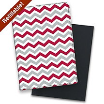 Support Your Personal or Professional Team with a Fun Red and Gray Notebook