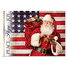 Treat Friends and Family to a Patriotic Ho Ho Ho-liday Card Honoring Our Great Nation