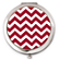 Red and White Chevron Compact