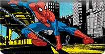 Genuine Leather Spider-Man Checkbook Cover is Action-Packed Fun!