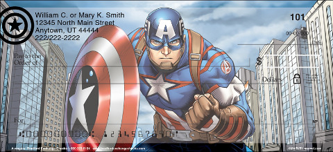 Capture Your Favorite Superheroes with Action-Packed Avengers Personal Checks!