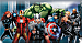 Avengers Checkbook Cover