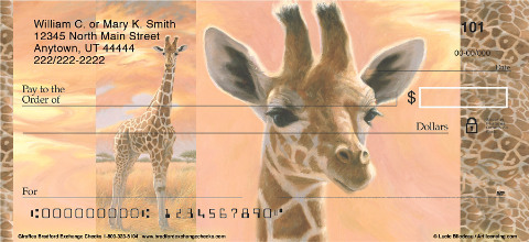 Giraffes Checks Take Banking to New Heights