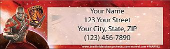 Guardians of the Galaxy Return Address Label