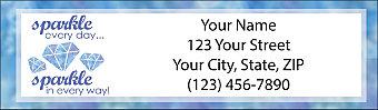 Shine Bright Return Address Label