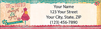 Walk by Faith Return Address Label