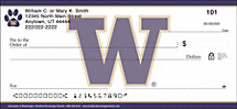 University of Washington® Checks Show Your Team Pride!