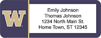 University of Washington® Address Labels