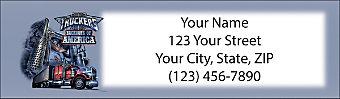 Trucker Return Address Label