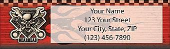 Gearhead Address Labels